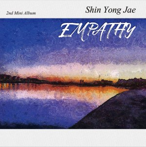 "Album art for Shin Yong Jae (4Men)'s album ""Empathy"""
