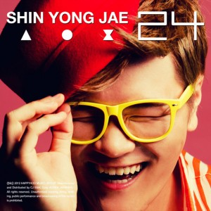 "Album art for Shin Yong Jae's album ""24"""