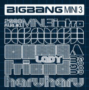 "Album art for Big Bang's 3rd Mini Album ""Stand Up"""