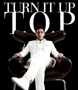 "Album Art for TOP's album ""Turn It Up"""