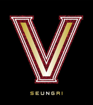"The album art for Seungri's album ""VVIP"""
