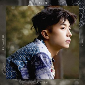 "Album art for Wooyoung's album ""Still Here"""