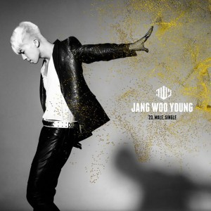 """Album art for Wooyoung's solo album """"23, Male, Single"""""""