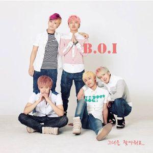 B.O.'s first digital single album artwork