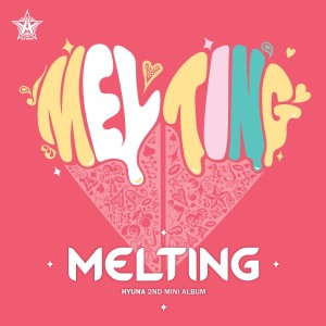 "Album art for Hyuna's (4Minute) album ""Melting"""