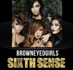 "The album art for Brown Eyed Girls's album ""Sixth Sense"""
