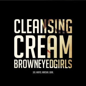 "The album art for Brown Eyed Girls's album ""Cleansing Cream"""