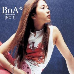 "Album art for BoA's album ""No. 1"""