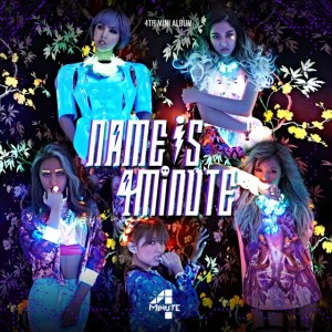 "Album art for 4Minute's album ""Name is 4Minute"""