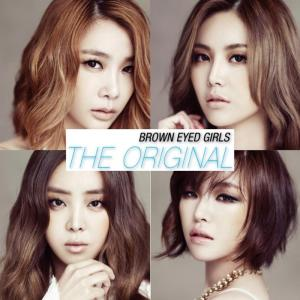 "The album art for Brown Eyed Girls's digital album ""The Original"""