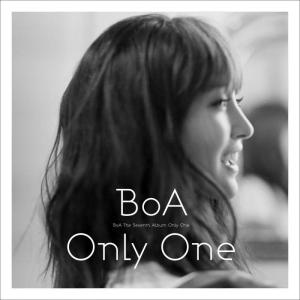 "The album art for BoA's album ""Only One"""