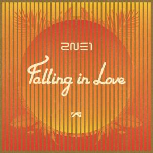 "Album art for 2NE1's album ""Falling In Love"""