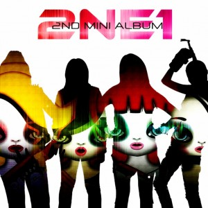 Album art for 2NE1's 2nd Mini album