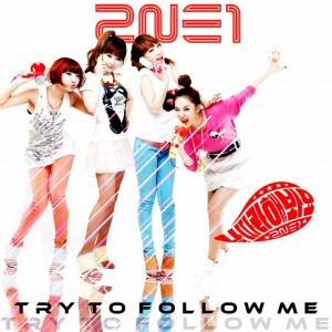 """Album art for 2NE1's album """"Follow Me"""""""