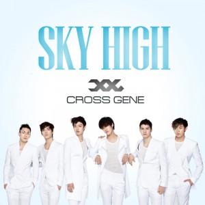 """Album art for Cross Gene's album """"Sky High"""""""