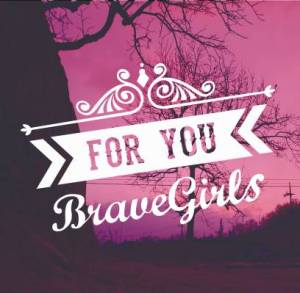 "The album art for Brave Girls's album ""For You"""