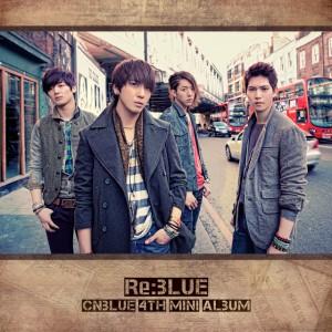 "Album art for CNBLUE's album ""Re:Blue"""