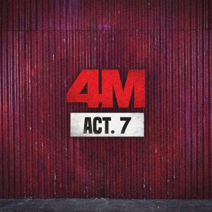 "Album art for 4Minute's album ""Act.7"""