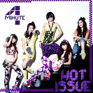 "Album art for 4Minute's album ""Hot Issue"""