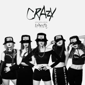 "Album art for 4Minute's album ""Crazy"""