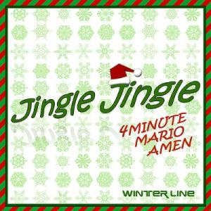 "Album art for 4Minute's album ""Jingle Jingle"""
