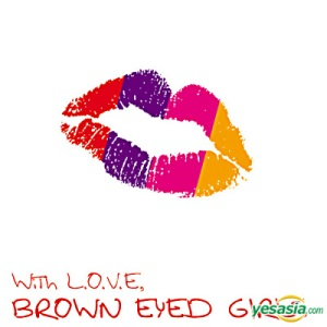 "The album art for Brown Eyed Girls's album ""With L.O.V.E."""