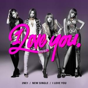 "Album art for 2NE1's album ""I Love You"""
