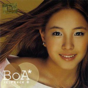 "Album art for BoA's album ""ID;Peace B"""