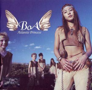 """Album art for BoA's album """"Atlantis Princess"""""""