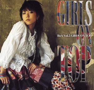 """The album art for BoA's album """"Girls On Top"""""""