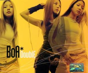 "The album art for BoA's album ""Double"""