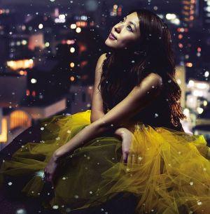 "The album art for BoA's album ""Merry Chri"""
