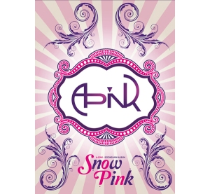 "Album art for Apink's album ""Snow Pink"""