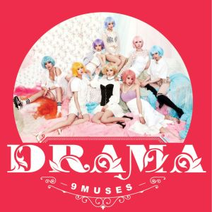 "Album art for 9Muses (Nine Muses) album ""Drama"""
