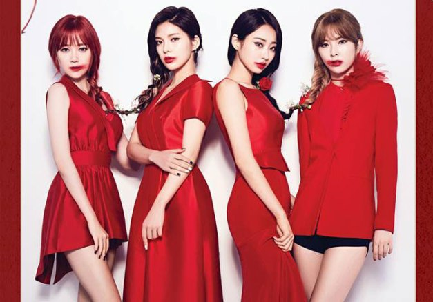 """9Muses's promotional picture for """"Identity"""""""