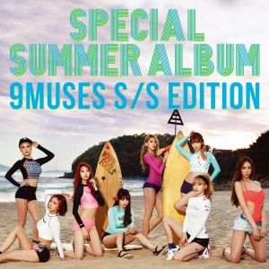 "Album art for 9Muses (Nine Muses) album ""Summer Special"" album"