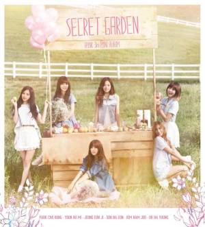 "Album art for Apink's album ""Secret Garden"""