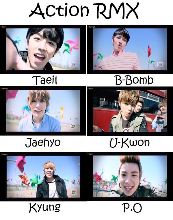 Block b profile members