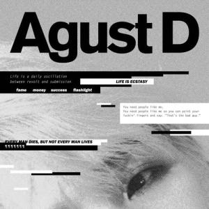 "Album art for Agust D (Suga)'s mixtape ""Agust D"""