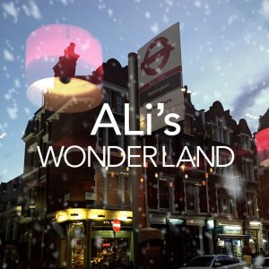 "Album art for ALi's album ""AL's Wonderland"""