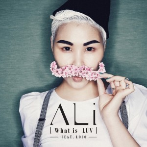 "Album art for ALi's album ""What Is Luv"""