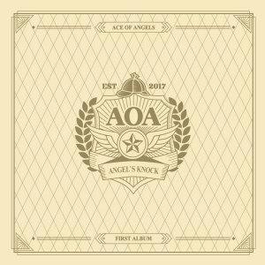"Album art for AOA's album ""Angel's Knock"""