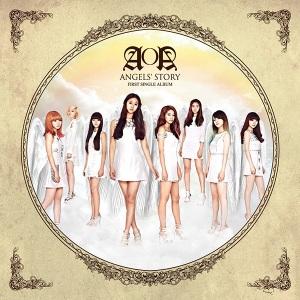 "Album ARt for AOA's album ""Angels Story"""