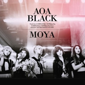 """Album art for AOA Black's album """"Moya"""""""