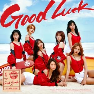 "Album art for AOA's album ""Good Luck"""
