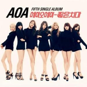 """Album art for AOA's album """"Miniskirt"""""""