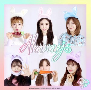 "Album art for APink's album ""Always"""