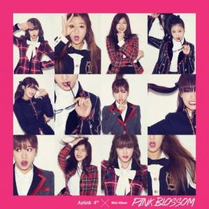 "Album art for APink's album ""Pink Blossom"""