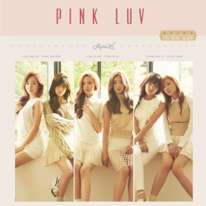 "Album art for APink's album ""Pink Luv"""