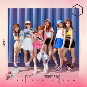 "Album art for APink's album ""Pink Memory"""